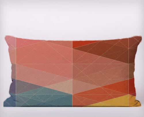 Modèle long housses de coussin oreiller cas décoration intérieure