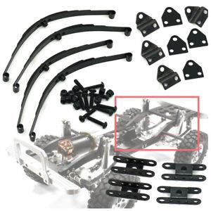 4Pcs-set-Black-Steel-Leaf-Spring-Suspension-for-RC-4WD-D90-1-10-RC-Crawler-Cars