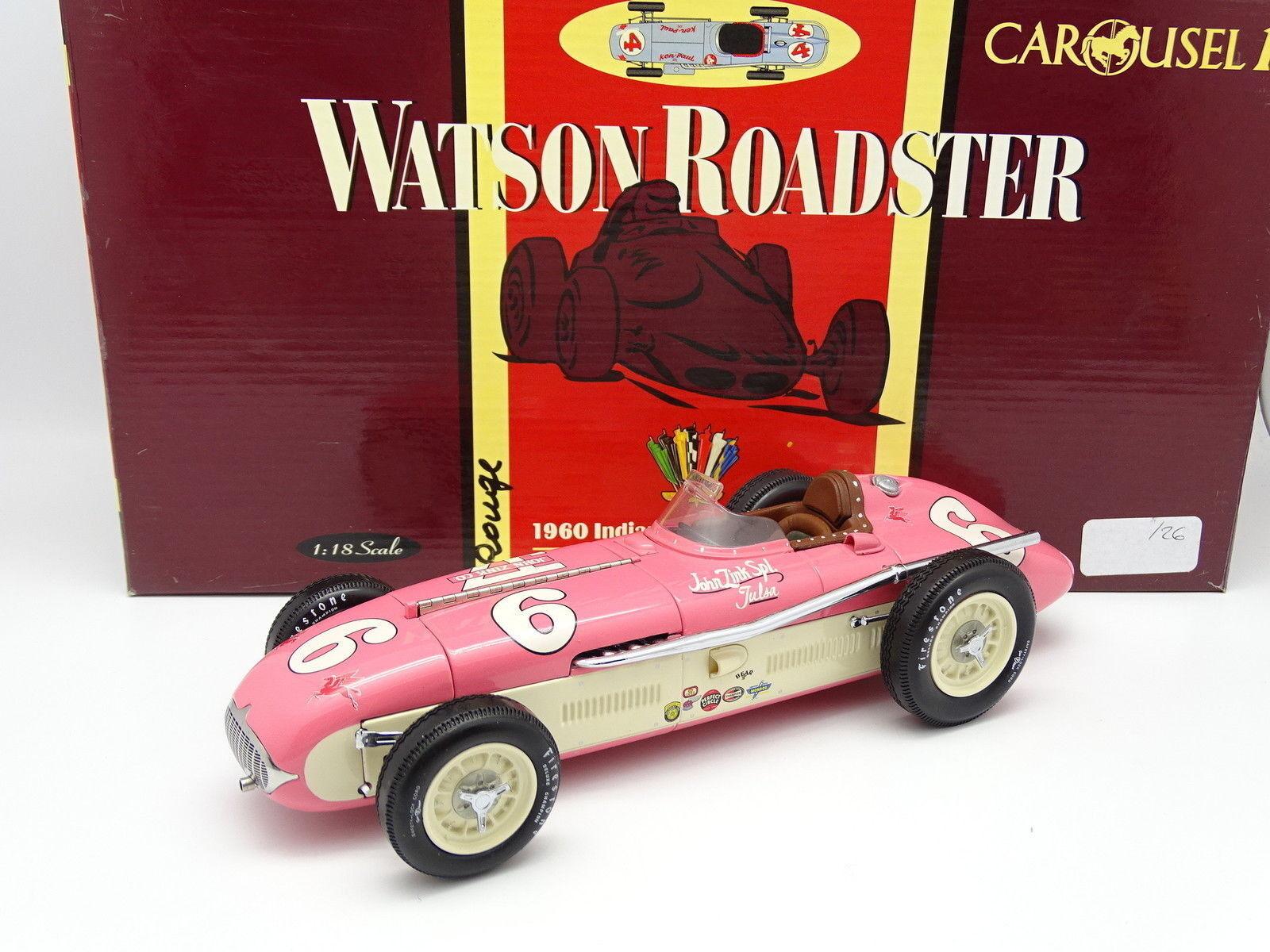 Carousel 1 18 - Watson Roadster Indy Car Indianapolis 1960 500 Winner Rathmann