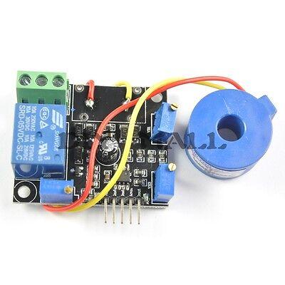 AC 50A Current Detection Sensor Module Short-Circuit Protection DC5V