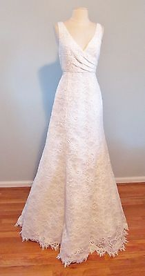 J Crew Sara Lace Gown - size 2 Ivory Wedding Gown - So Beautiful !!!
