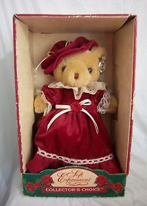 """*NEW* DAN DEE SOFT EXPRESSIONS COLLECTOR'S CHOICE VICTORIAN STYLE TEDDY BEAR 12"""""""