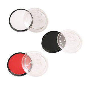 Laval-Easy-Clean-Face-Paint-Paints-Black-Red-amp-White