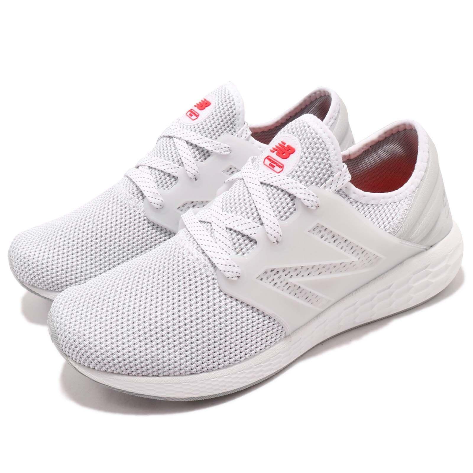 New Balance MCRUZRW2 D White Red Men Running shoes Sneakers Trainers MCRUZRW2D