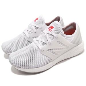 New-Balance-MCRUZRW2-D-White-Red-Men-Running-Shoes-Sneakers-Trainers-MCRUZRW2D