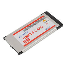 NEW Express Card ExpressCard 34mm to 5Gbps 2 Ports USB 3.0 Adapter Card BC628