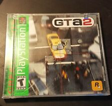Playstation 1 PS1 Grand Theft Auto 2 GTA 2, Complete w/ Case & Manual. Tested!!!