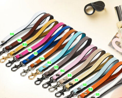 1.2M*18CM Real Leather Replacement Wrist Strap Handbag Straps Wallet Strap Band