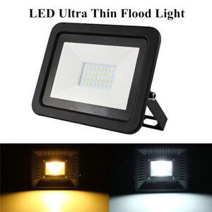10W-30W-50W-LED-Mince-Flood-Spot-Light-Projecteur-Lampe-Jardin-Exterieur-Etanche