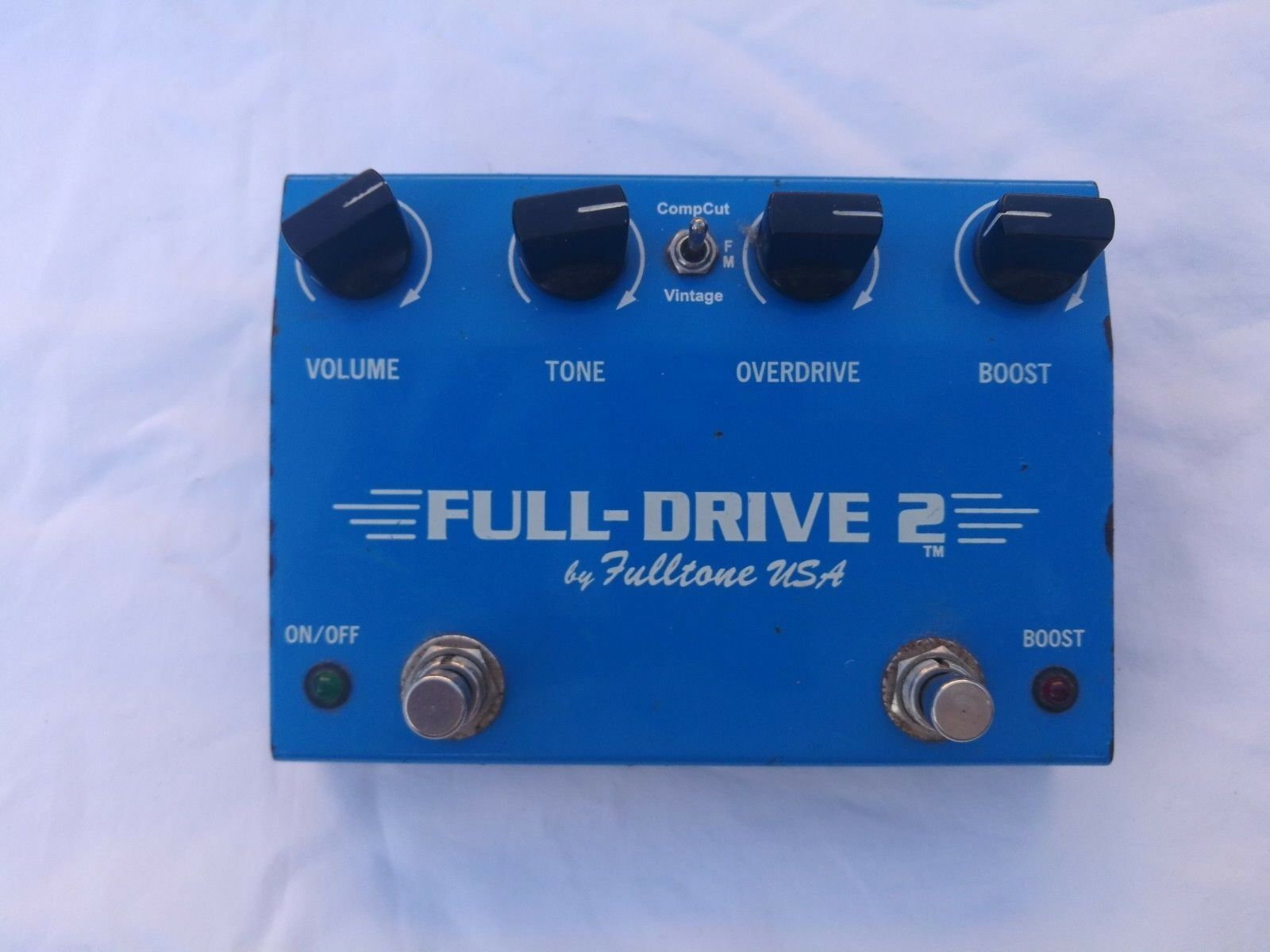 FULLTONE FULL DRIVE 2 (PRE-MOSFET) - FREE NEXT DAY DELIVERY IN THE UK