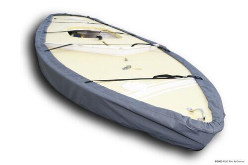 Sunfish Sailboat Gray Top Gun Boat Hull Cover