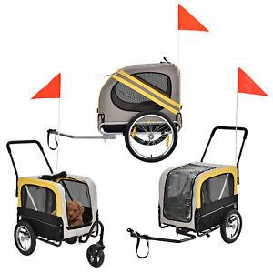 fahrradanh nger anh nger jogger hundeanh nger hunde transport fahrrad ebay. Black Bedroom Furniture Sets. Home Design Ideas