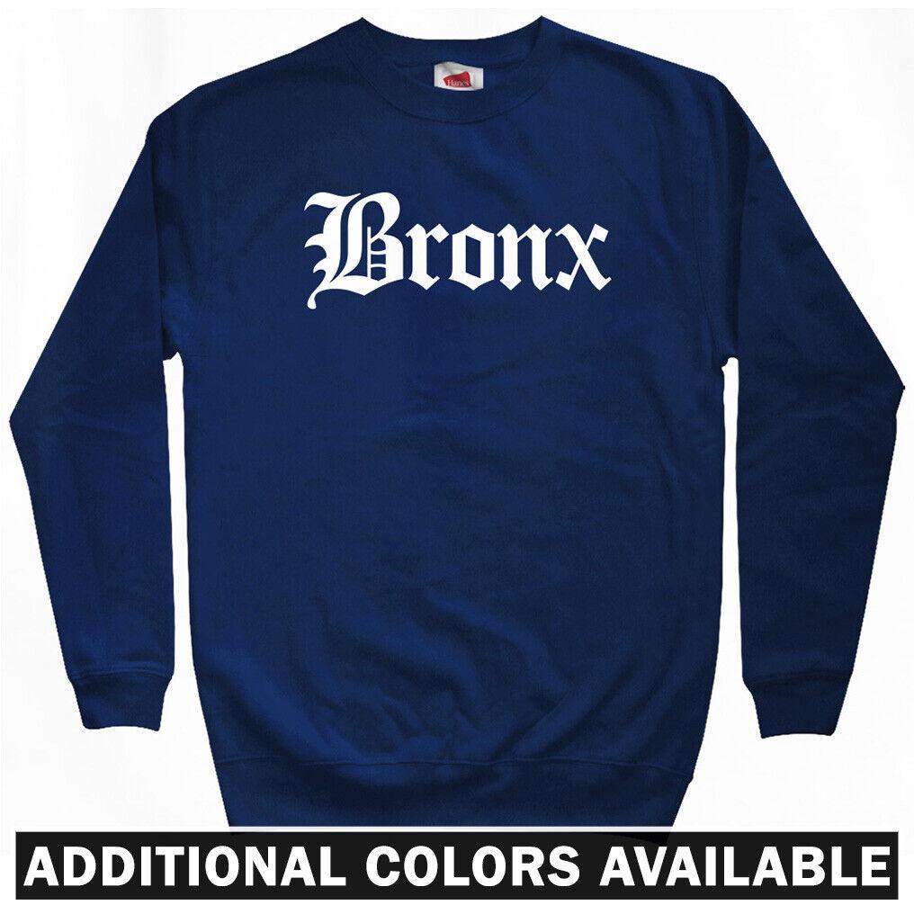 Crewneck S-3X Yankees Bronx New York Baseball Stadium BXNY Men/'s Sweatshirt