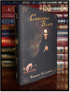 Cardinal-Black-SIGNED-by-ROBERT-McCAMMON-Brand-New-Cemetery-Dance-Hardback