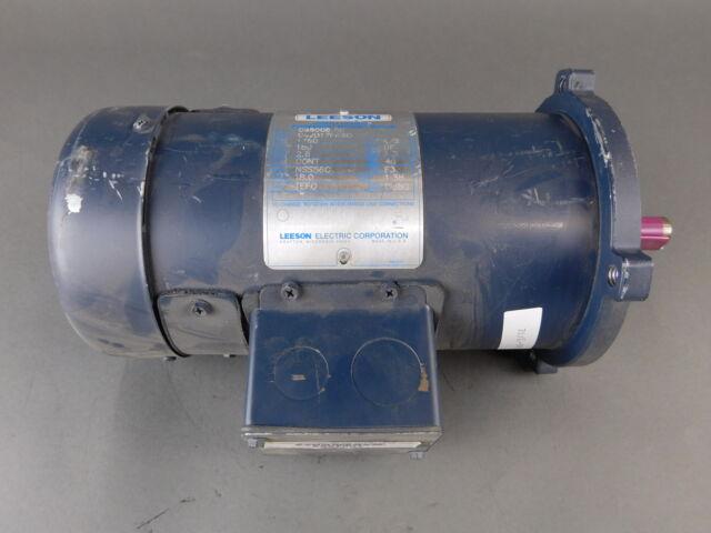 Leeson 1/2HP DC Motor C42D17FK6C - NEW Surplus!