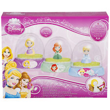 Disney Princess Paint Your Own Glitter Domes 3 Character Set