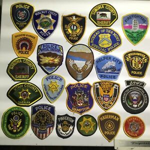 Police-fire-fighter-ambulance-and-security-Guard-patches
