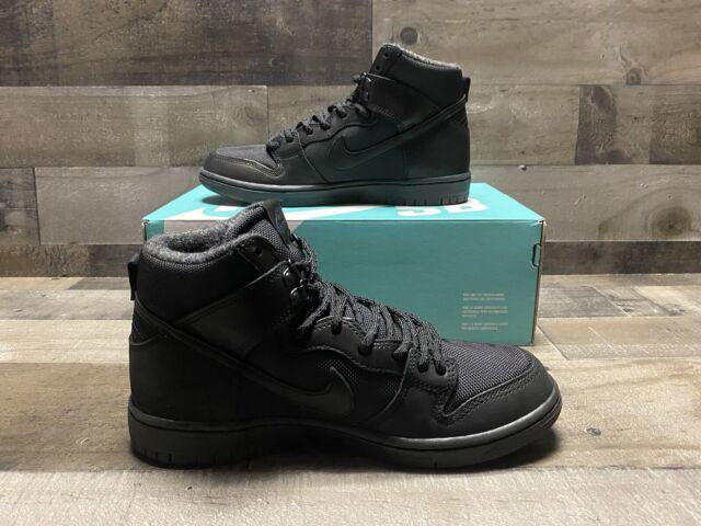 Nike SB Zoom Dunk Hi Pro Bota Black 923110 001 Men's Size 7