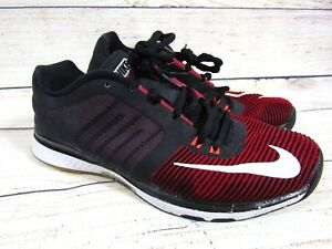 9e9a0f3105b2 Nike Zoom Speed TR3 Run Training 804401-616 Men Size 8 Red Black ...