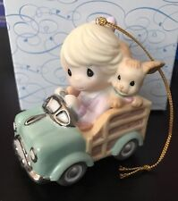 MIB Precious Moments Ornament I Woodn't Go Anywhere Without You!