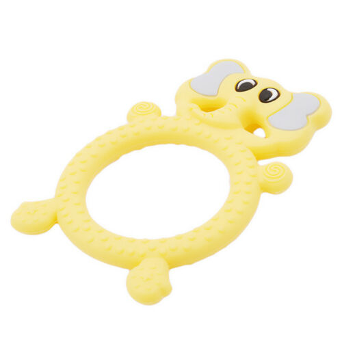 Silicone Baby Giraffe Shape Teether Baby Chewable Teething Toy Sensory Toy LH