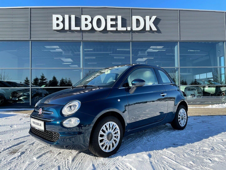 Fiat 500 1,2 Lounge 3d - 119.800 kr.