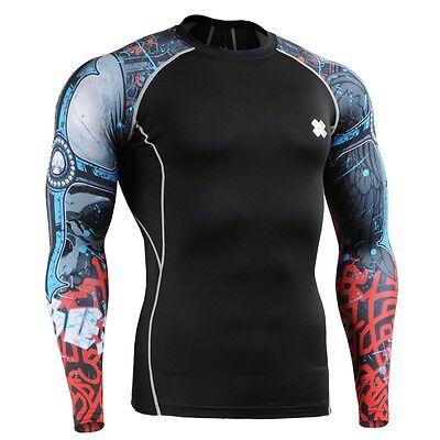 FIXGEAR CPD-B73 Compression Base Layer Skin-tight Shirts Training Gym MMA