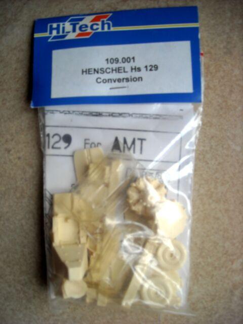 Hi Tech 1/48 #109.001 Henschel Hs 129 Conversion for AMT Kit