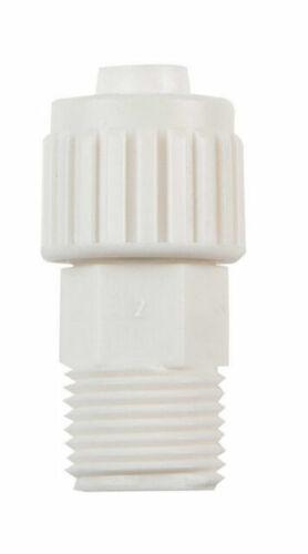Flair-It 16842 Polyoxmethylene Pipe Adapter 1//2 PEX x 1//2 MPT Dia in.