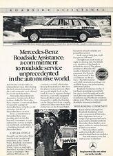 1984 Mercedes Benz 300TD Wagon -  Original Advertisement Car Print Ad J513