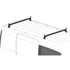 2 Bar Black Aluminum Ladder Roof Rack AMZ-150 Fits: Transit Connect 2014-on