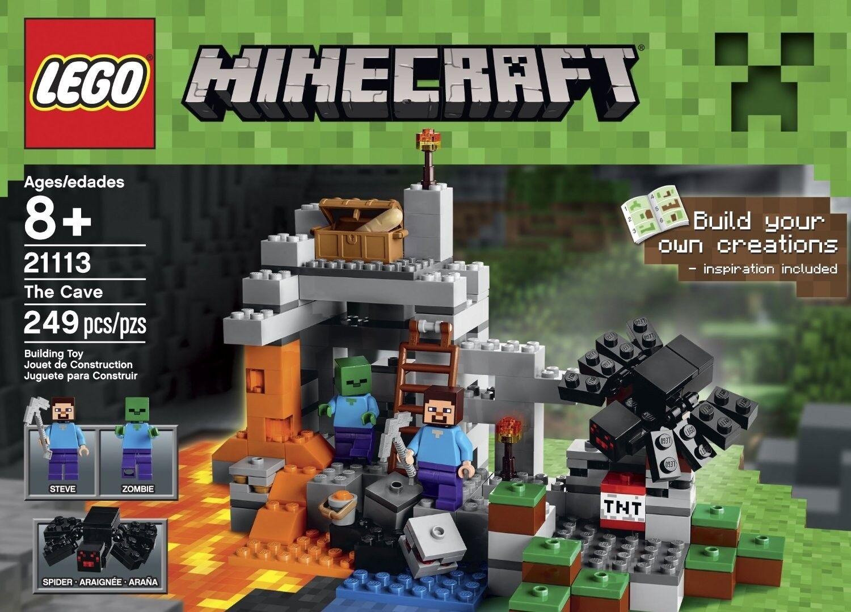 NEW LEGO Minecraft The Cave 249Pcs 2113
