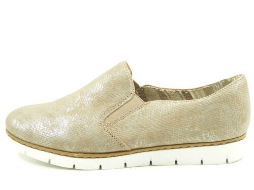 Rieker M1354 Schuhe Damen Halbschuhe Slipper