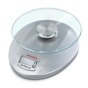 SOEHNLE ROMA DIGITAL KITCHEN SCALE 5 KG CAPACITY SILVER 65856