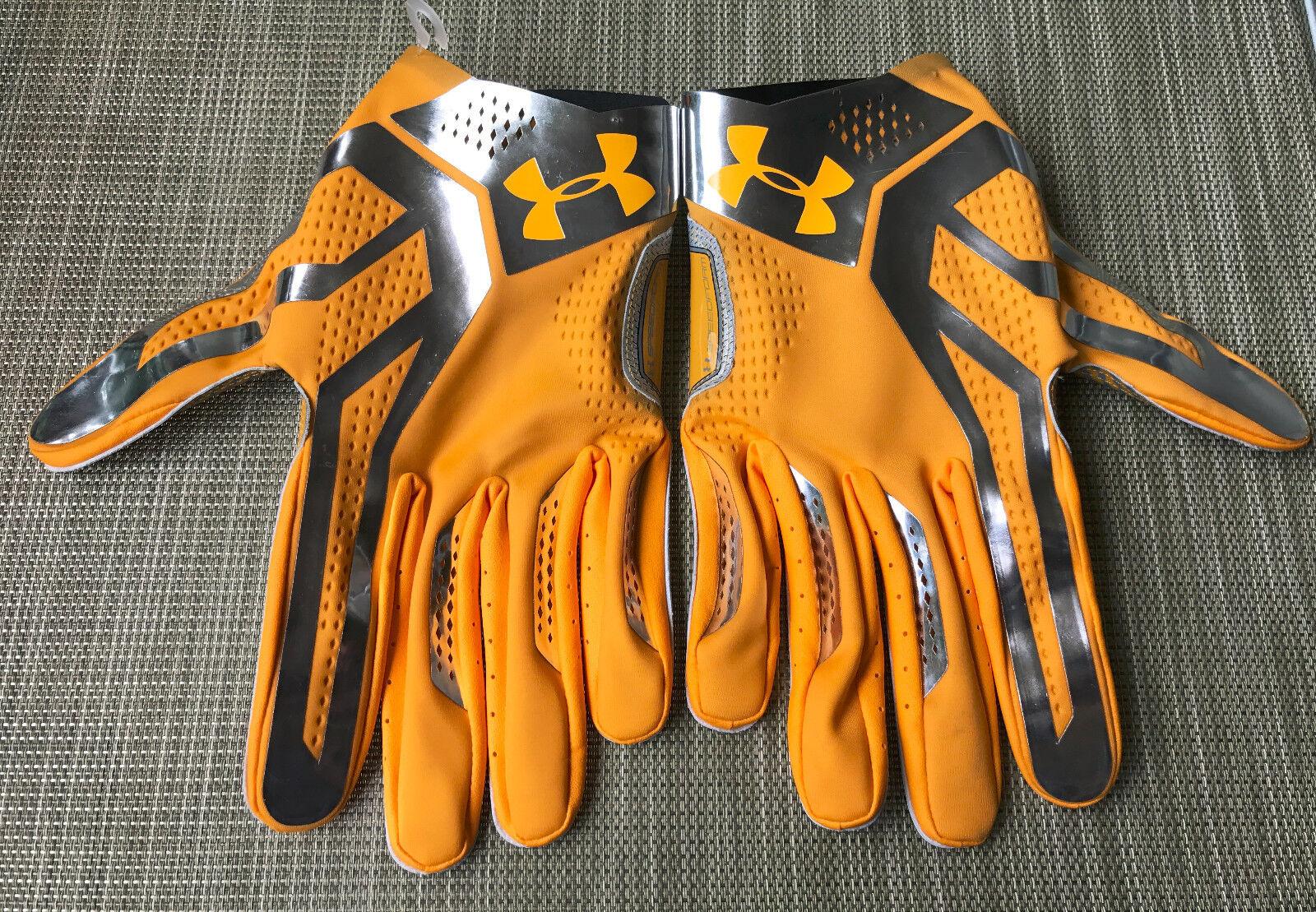 Under Armour Scheinwerfer Speedform NFL Fußball Handschuh Größe Größe Größe 4XL Msrp b48177