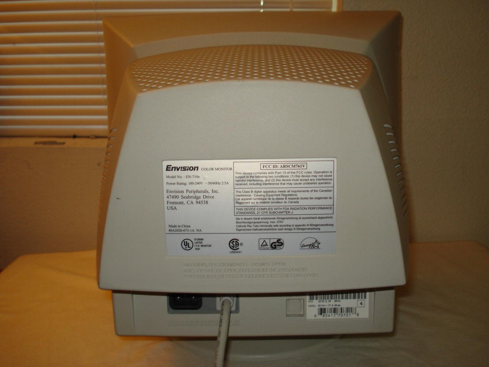 ENVISION EN 775E MONITOR TREIBER WINDOWS XP