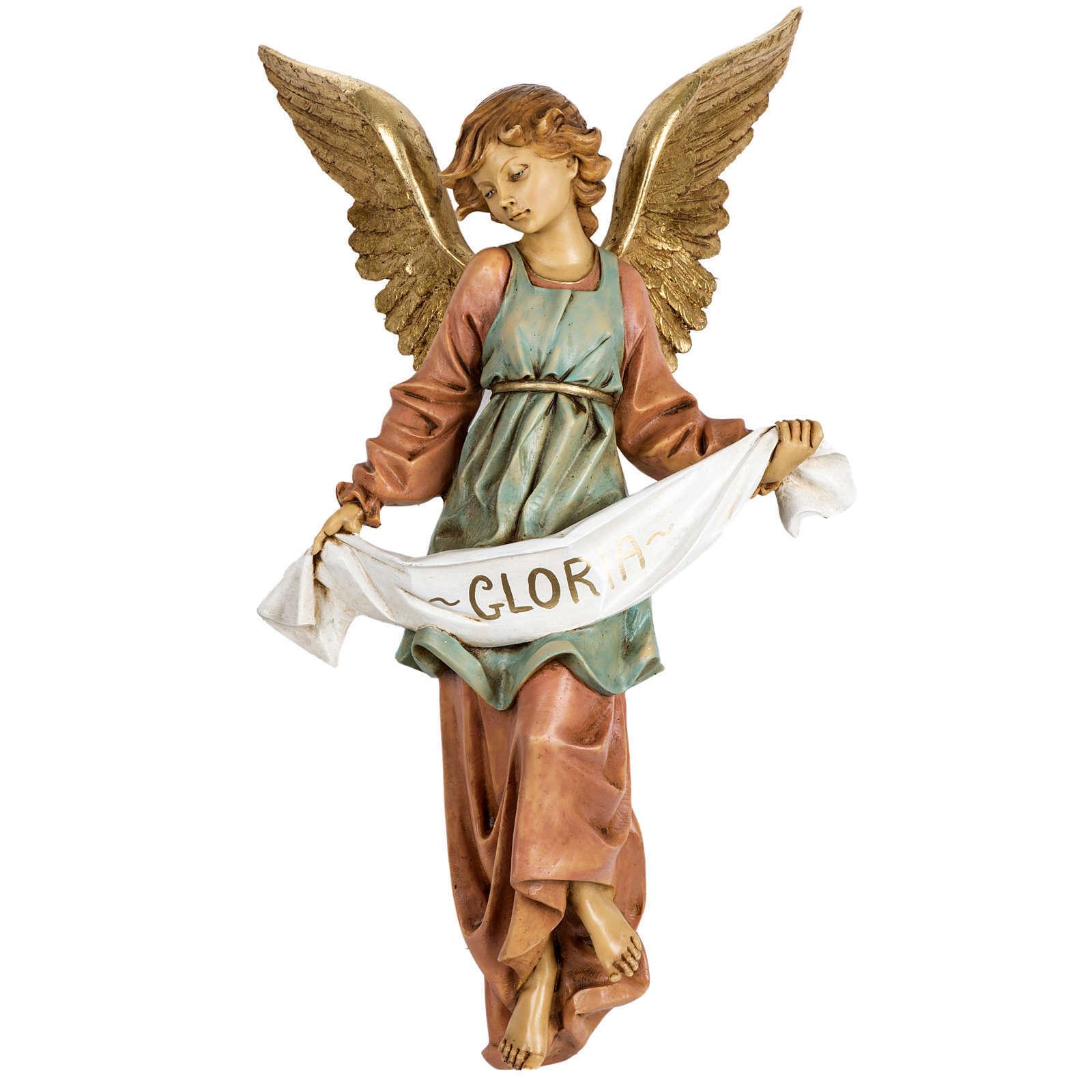 Ange de la gloire crèche Fontanini 65 cm résine