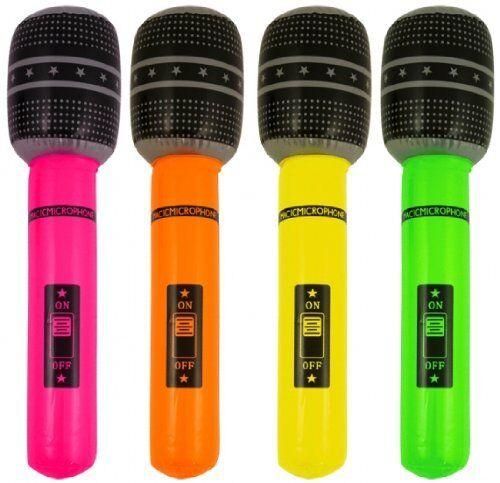 Aufblasbares Mikrofon 40CM Zufällige Farbe