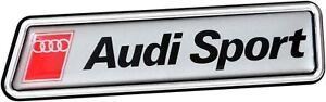 Historischer-Audi-Sport-3D-Aufkleber-Schild-10-cm-Emblem-RICHTER-Art-19262