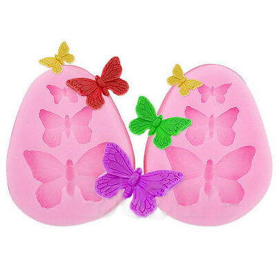 JT55 Silicone Lace Butterfly Fondant Sugar Craft Mould Cake Decorating Mold Tool