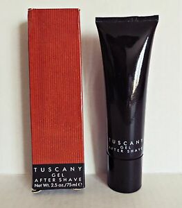 Vintage-TUSCANY-ARAMIS-After-Shave-Gel-2-5-oz-75-ml-RARE-Old-Stock-New-In-Box