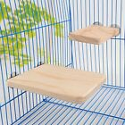 Wooden Hamster Squirrel Parrot Bird Perch Puppy Stand Platform Pet Hanging Toy