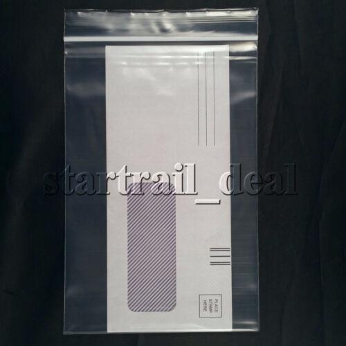 "100 Clear 6 x 8/"" 2Mil Reclosable Resealable Ziplock Zipper Poly Plastic Bags"