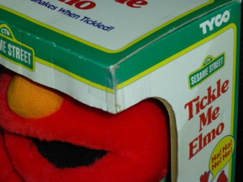 1995 Original Tickle Me Elmo Vintage Plush Doll Tyco New in Box from JAPAN RARE! Film- & TV-Spielzeug
