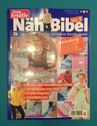 top Simply creativo compañía Biblia vol.9 dezembr 09//2017 con DVD!! No leído 1a ABS