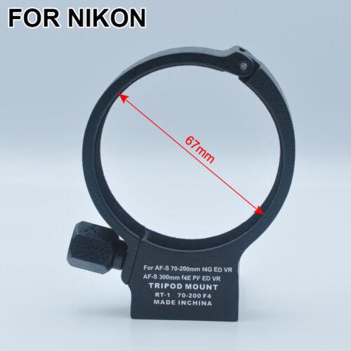 Montaje de trípode Anillo Collar Lente Para Nikon AFS 70-200mm F//4G Ed VR cámaras NUEVO