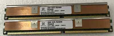 KTM2266//2G 2GB PC3200 184-pin  ECC Registered VLP DIMM IBM 73P5126