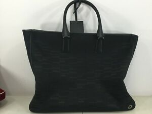 Authentic-Montblanc-leather-black-bag-handbag-like-a-new-one