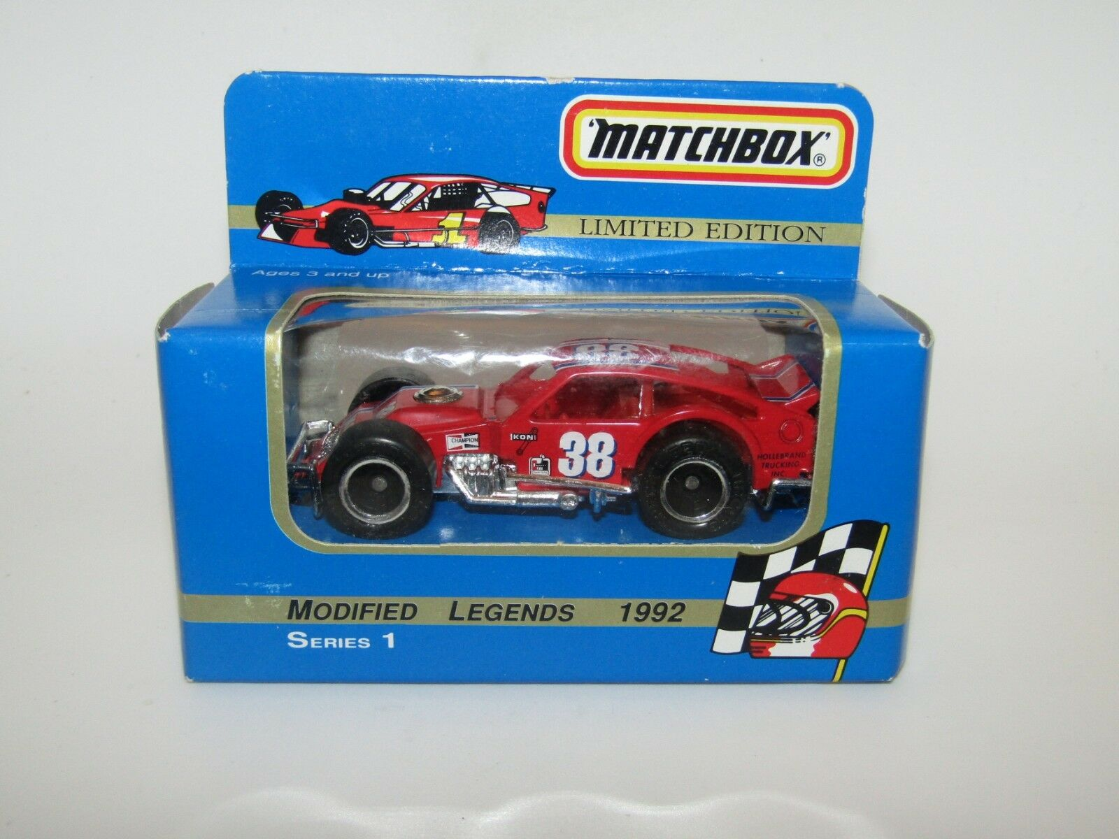 Matchbox Superfast No 12 Modified Racer rot No 38 MIB RARE only 10000 made