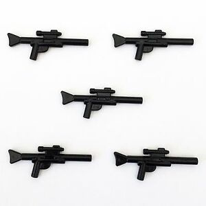 5-x-STAR-WARS-lego-BLASTER-GUN-SNIPER-long-RIFLE-minifig-weapons-clone-wars-NEW